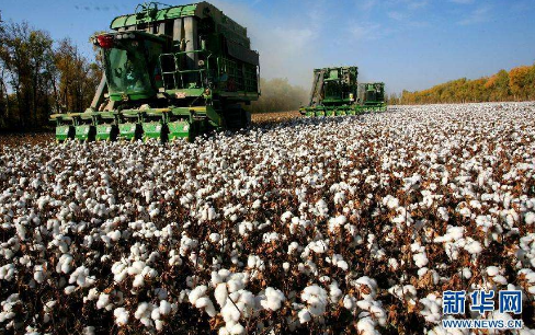 国家统计局:2017年全国棉花产量数据同比增长2.7%