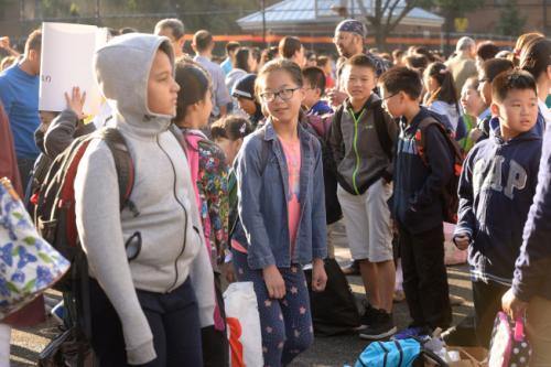 纽约市公校少数族裔学生占多数,但少数族裔教师数量却不成比例。(美国《世界日报》档案照)