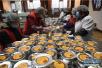 杭州灵隐寺免费发放30万份腊八粥