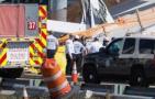 美过街天桥坍塌多人死伤