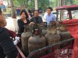 安阳市质监局液化石油气瓶充装专项整治行动扫描