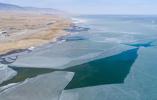 【组图】青海湖枯水期面积达18年来最大值