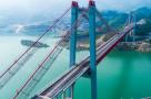 清江特大桥即将竣工