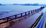 胶州湾跨海铁路大桥合龙 为青连铁路奠定基础