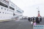 开辟旅游宣传促销新途径大连市旅游代表团乘大连至舞鹤首航邮轮开展宣传推介