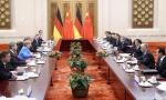 李克强同德国总理举行会谈