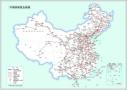 北京:列车员一气呵成 画出全国铁路线路图