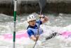 亚运皮划艇激流回旋女子单人划艇决赛 陈诗摘金