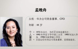 加拿大法院批准華為公司首席財務官孟晚舟的保釋申請