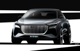 奥迪Q4 e-tron概念车设计图 日内瓦车展亮相