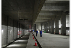 京雄城際鐵路北京新機場站主體工程完工