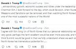 特朗普再提第三次朝美峰会:我和金正恩私交好极了