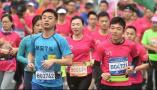 仙林半马鸣枪开跑1.2万名跑友参加