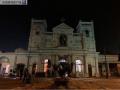 斯里兰卡受袭教堂对媒体开放 爆炸痕迹清晰可见