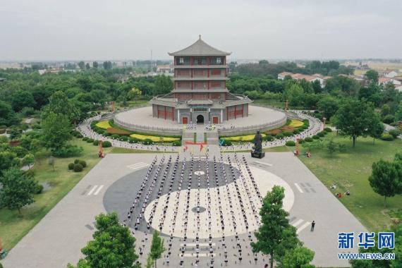 """河南温县:丝竹古韵迎""""六一"""""""