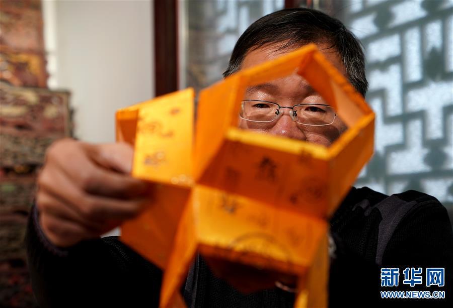 (图片故事)(5)张俊涛:让更多人了解传统灯笼文化