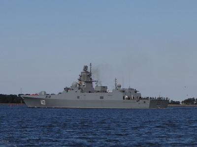 22350型护卫舰是由俄罗斯北方设计局研制的一款新型