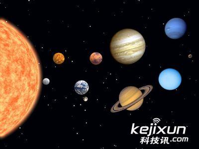 太阳系由九大行星其中水星、金星、地球、火星及冥王星,是以岩石为图片