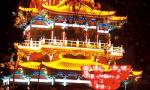 洛阳王城公园新春灯会:花灯璀璨连成海