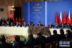 习近平和捷克总统泽曼共同出席中捷经贸合作圆桌会