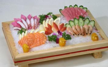 同江赫哲族生鱼片