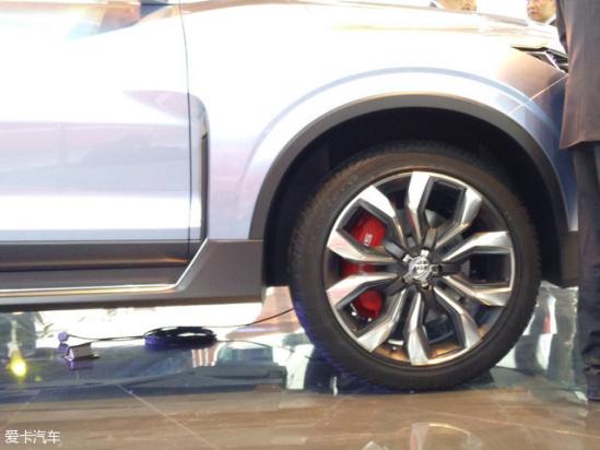 上汽大通D90量产版预计明年四季度发售高清图片