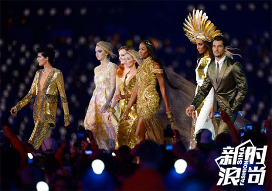 伦敦奥运会上已经有超模助阵的先例