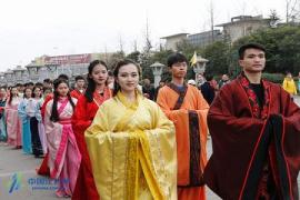 """""""花朝节"""" :祭祀花神感受汉文化风韵"""