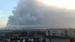 乌克兰一弹药库发生爆炸