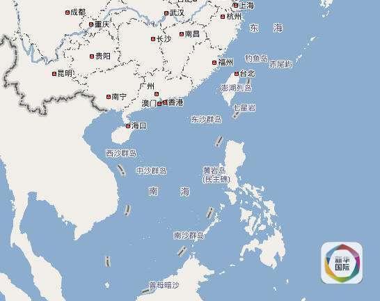 中国省地图黑白