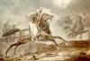 中德学者发现阿拉伯战马岩画 距今已有2000多年