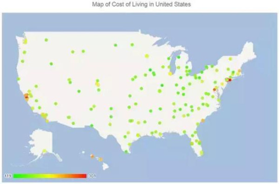 美国留学生活成本大起底 附生活开销查询方法!