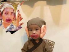 一個台灣小朋友的萬聖節粧扮
