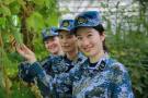 南沙迎来首批女军人