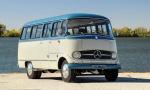古董级奔驰O319巴士实拍