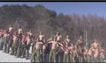 韩美士兵赤身肉搏训练