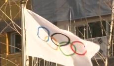 中国冬奥代表团入驻奥运村