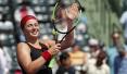 前法网冠军奥斯塔彭科晋级迈阿密网球赛半决赛