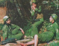 对越反击战中国女兵风采