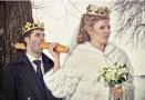 五毛钱特效的婚纱照