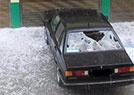 陕西遭遇冰雹袭击