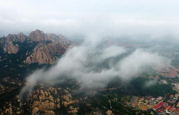 崂山云海奇观 景色迷人