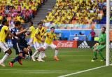 2018年世界杯首张红牌诞生:10人哥伦比亚不敌日本