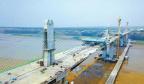 运宝黄河大桥主桥胜利合龙 今年10月将通车