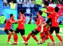 韩国掀翻德国战车 卫冕冠军梦断喀山