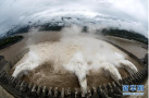 实拍三峡大坝泄洪