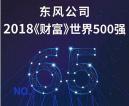 营业收入933亿美元 东风公司世界500强排名第65位