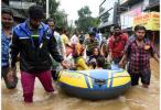 印度克勒拉省发生百年不遇洪灾 遇难人数升至400人