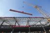 """京张高铁第一大站""""清河站""""主体封顶 明年底开通运营"""