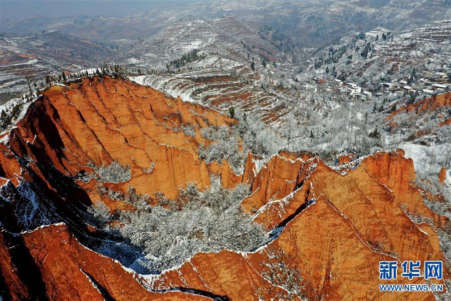 (环境)(4)雪后豫西 风景如画